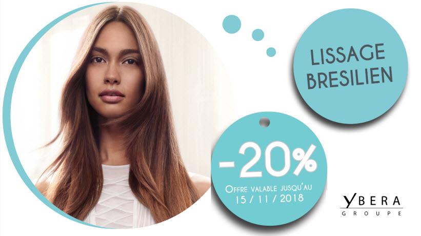 - 20% Lissage Brésilien