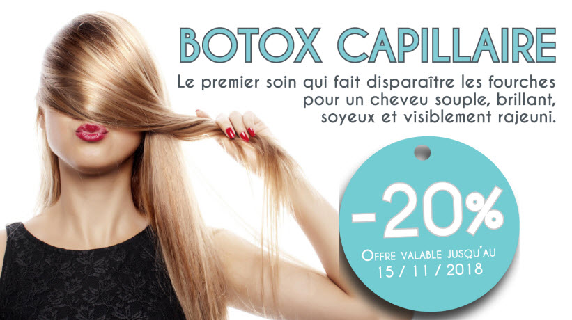 - 20% Botox Capillaire